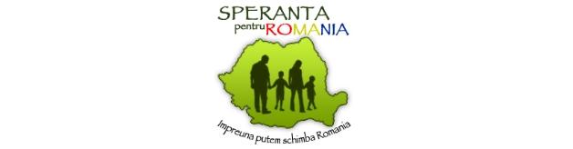 Speranţă pentru România logo